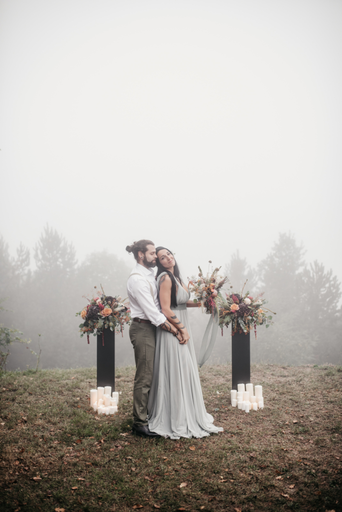 The Other Wedding_Foggy Woodland Wedding
