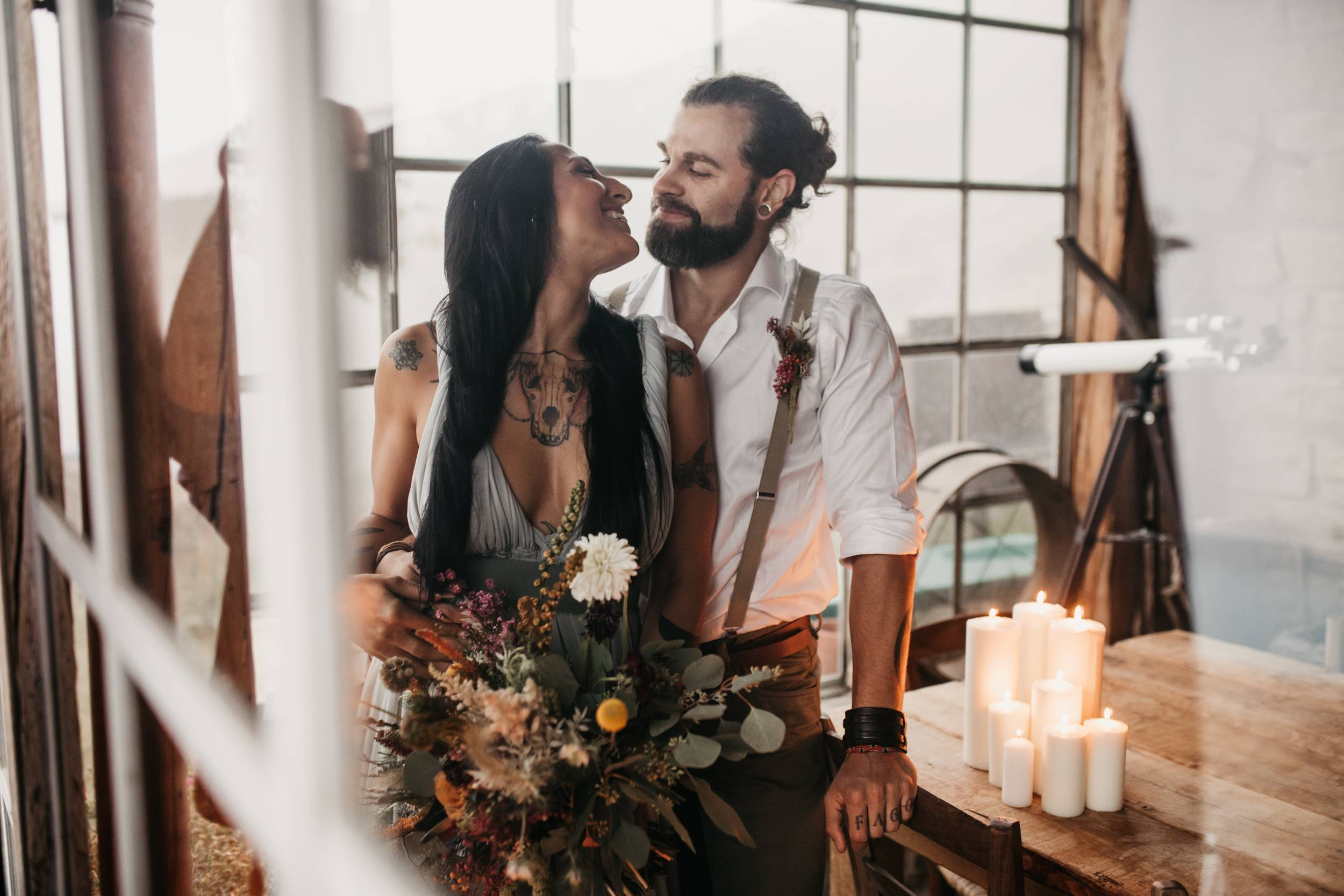 The Other Wedding_Foggy Woodland Wedding