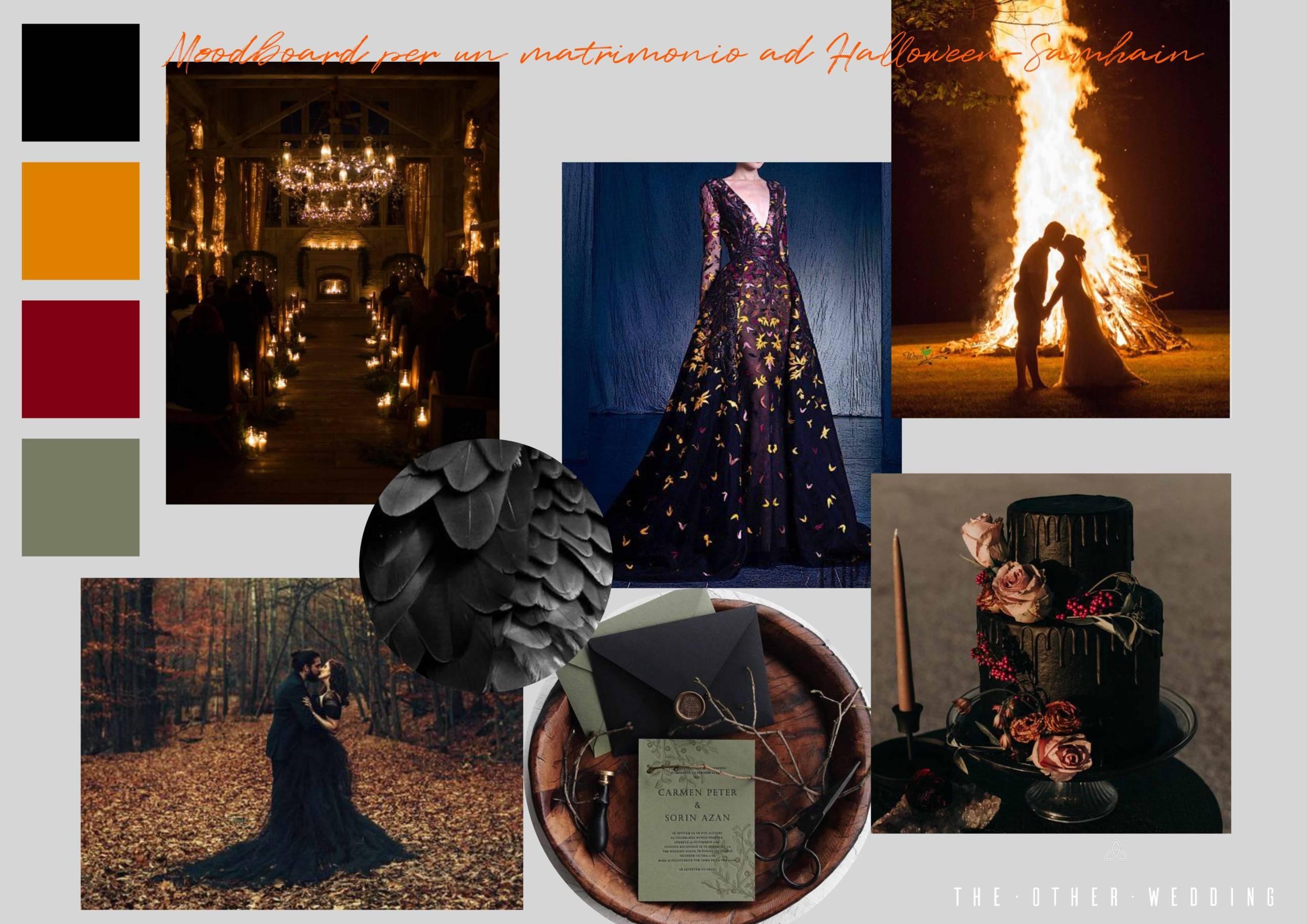 The Other Wedding_Moodboard per un matrimonio ad Halloween-Samhain